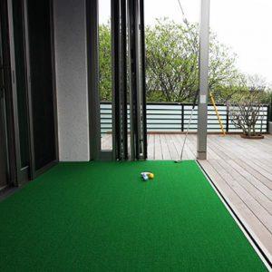 ゴルフの練習ができる家