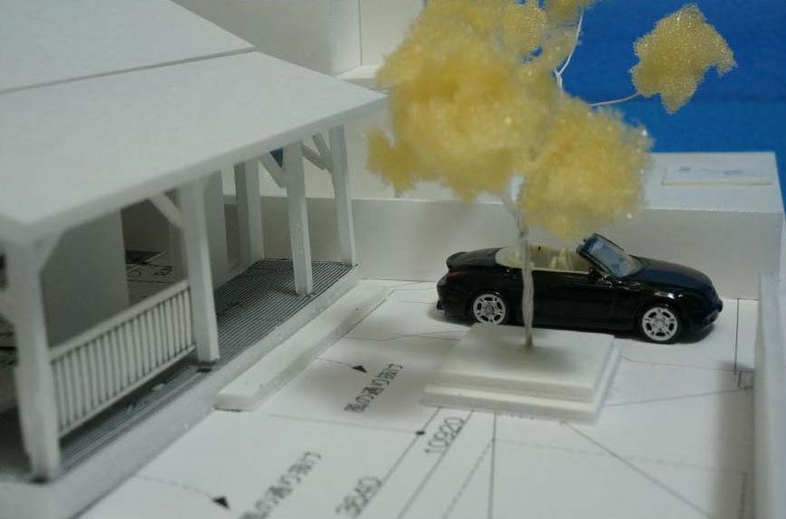 ロクマルハウス模型