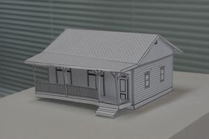 ロクマルハウス模型完成写真