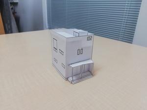 TOFU HOUSE 模型くん完成写真