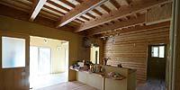 自然素材的住宅
