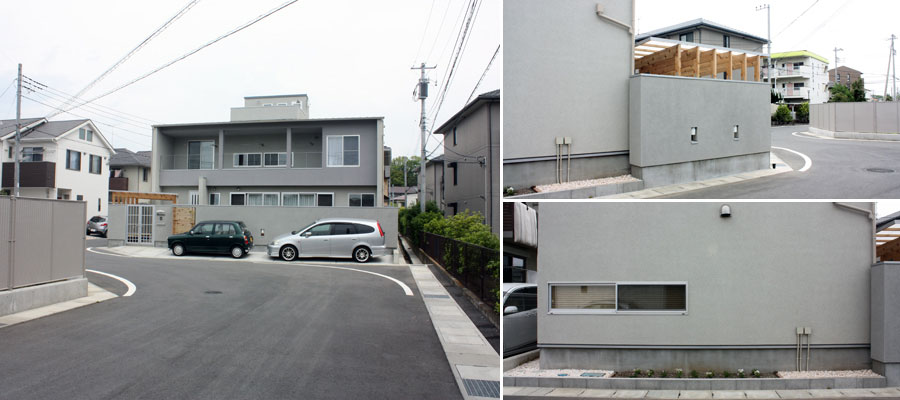 静岡県三島市の家