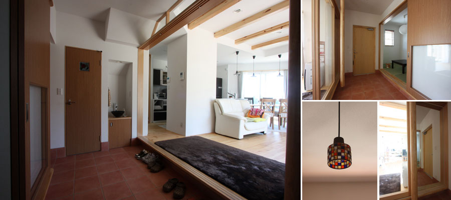 絵本の風景の家